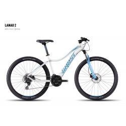 Велосипед GHOST Lanao 2 white/blue/lightblue год 2016
