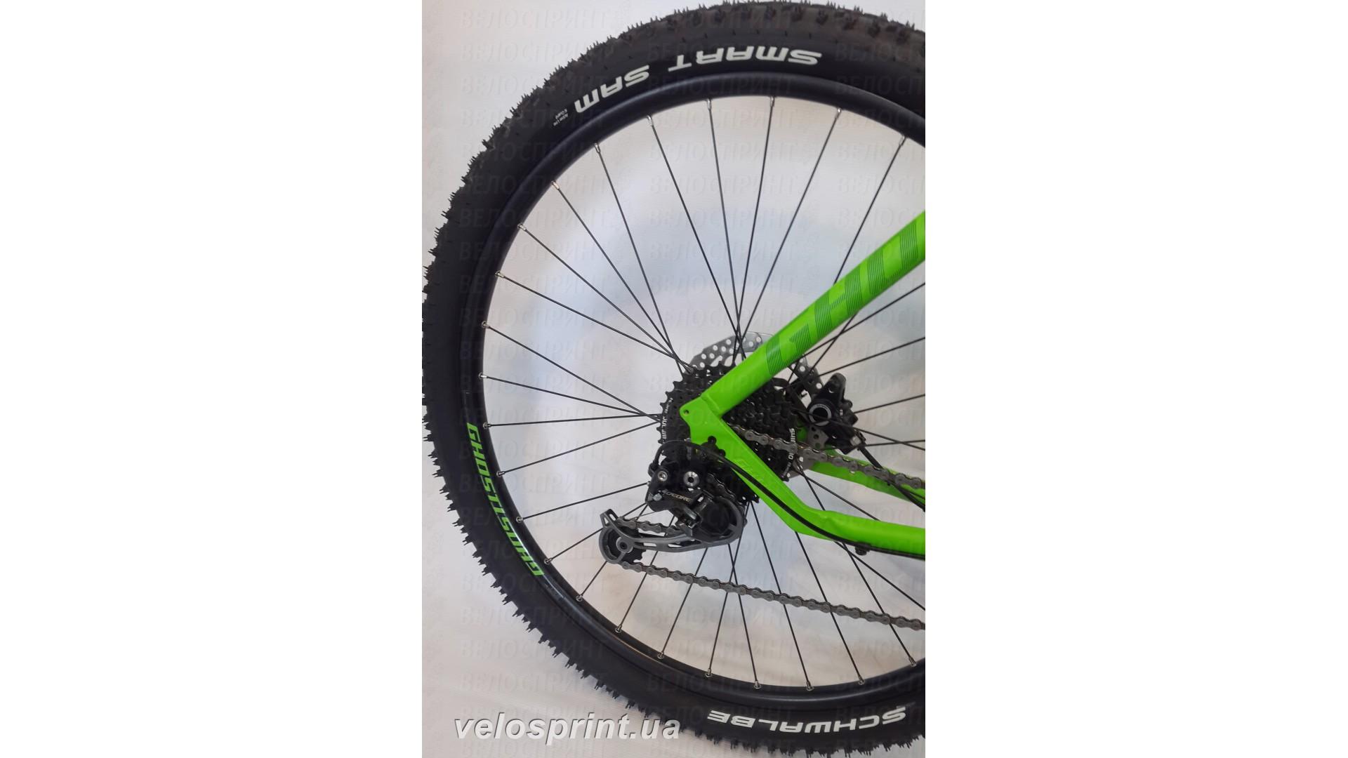 Велосипед GHOST Kato 3 green/darkgreen/black задний переключатель год 2016