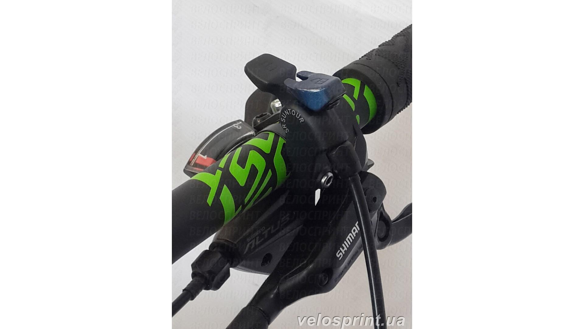 Велосипед GHOST Kato 3 green/darkgreen/black блокировка вилки вид1год 2016