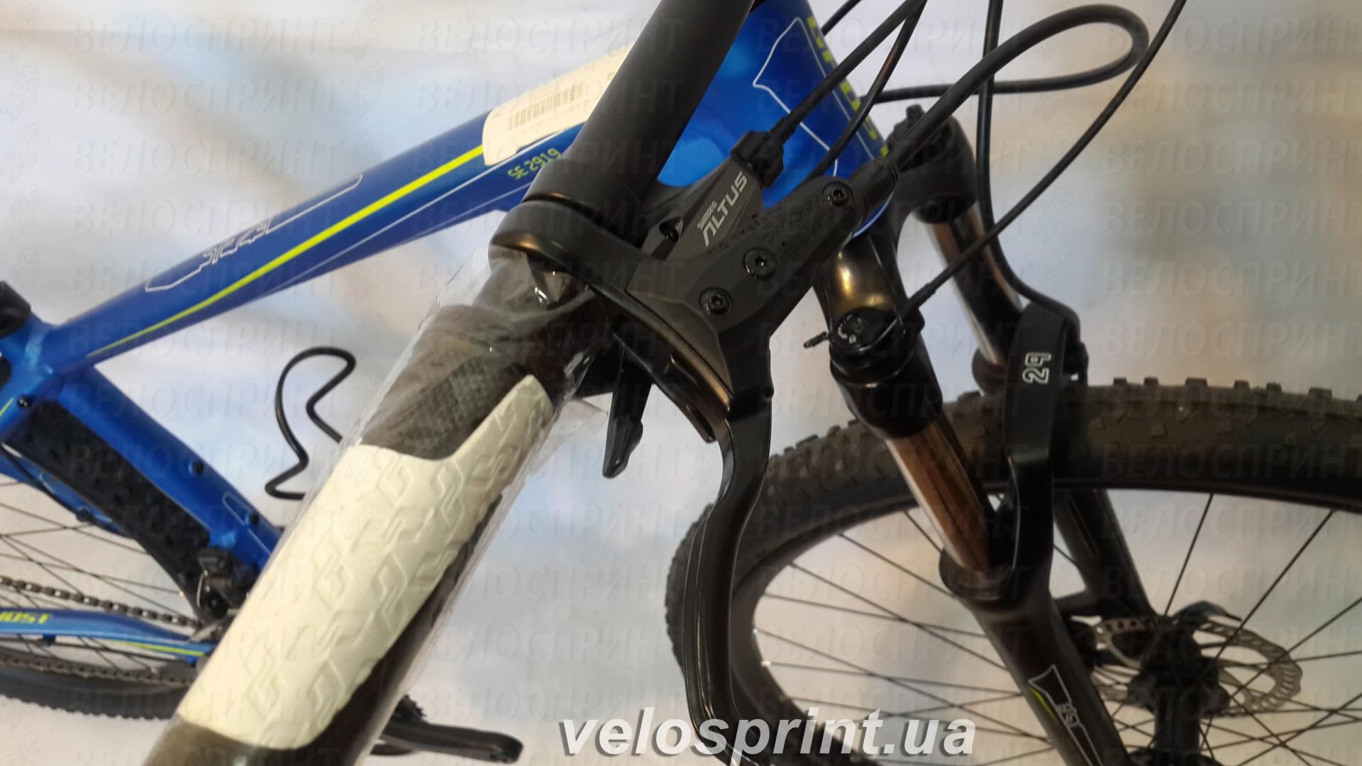 Велосипед GHOST SE 2919 blue/white/green тормозная ручка год 2014