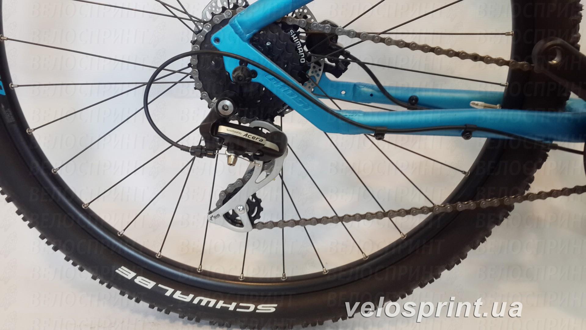 Велосипед GHOST Kato 2 blue/darkblue/black задний переключатель год 2016