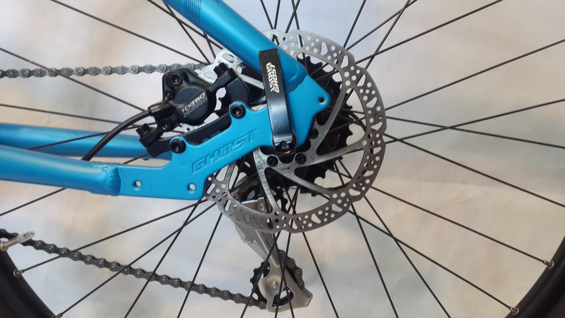 Велосипед GHOST Kato 2 blue/darkblue/black задний тормоз год 2016