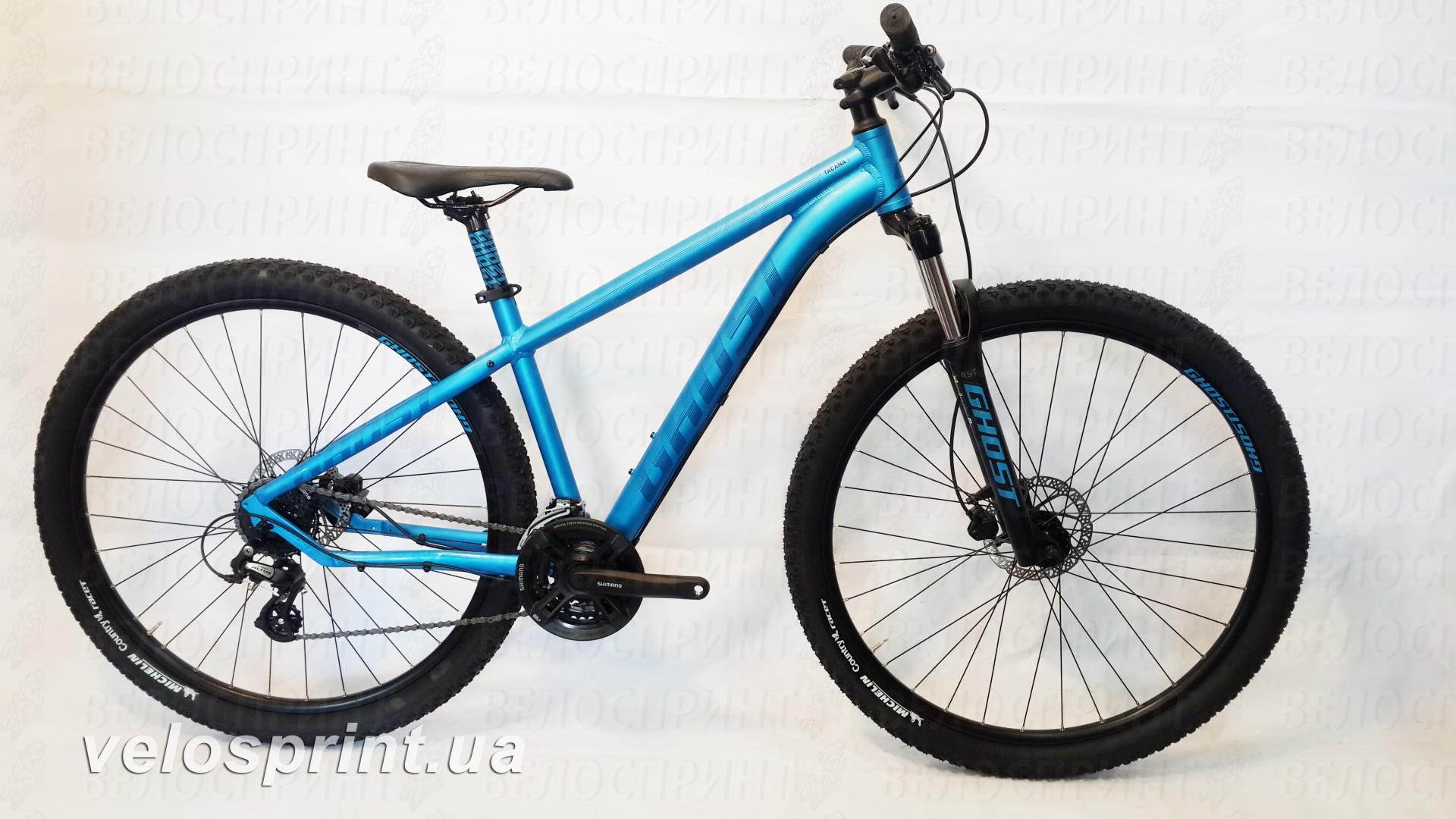Велосипед GHOST Tacana 1 blue/darkblue/black общий вид год 2016