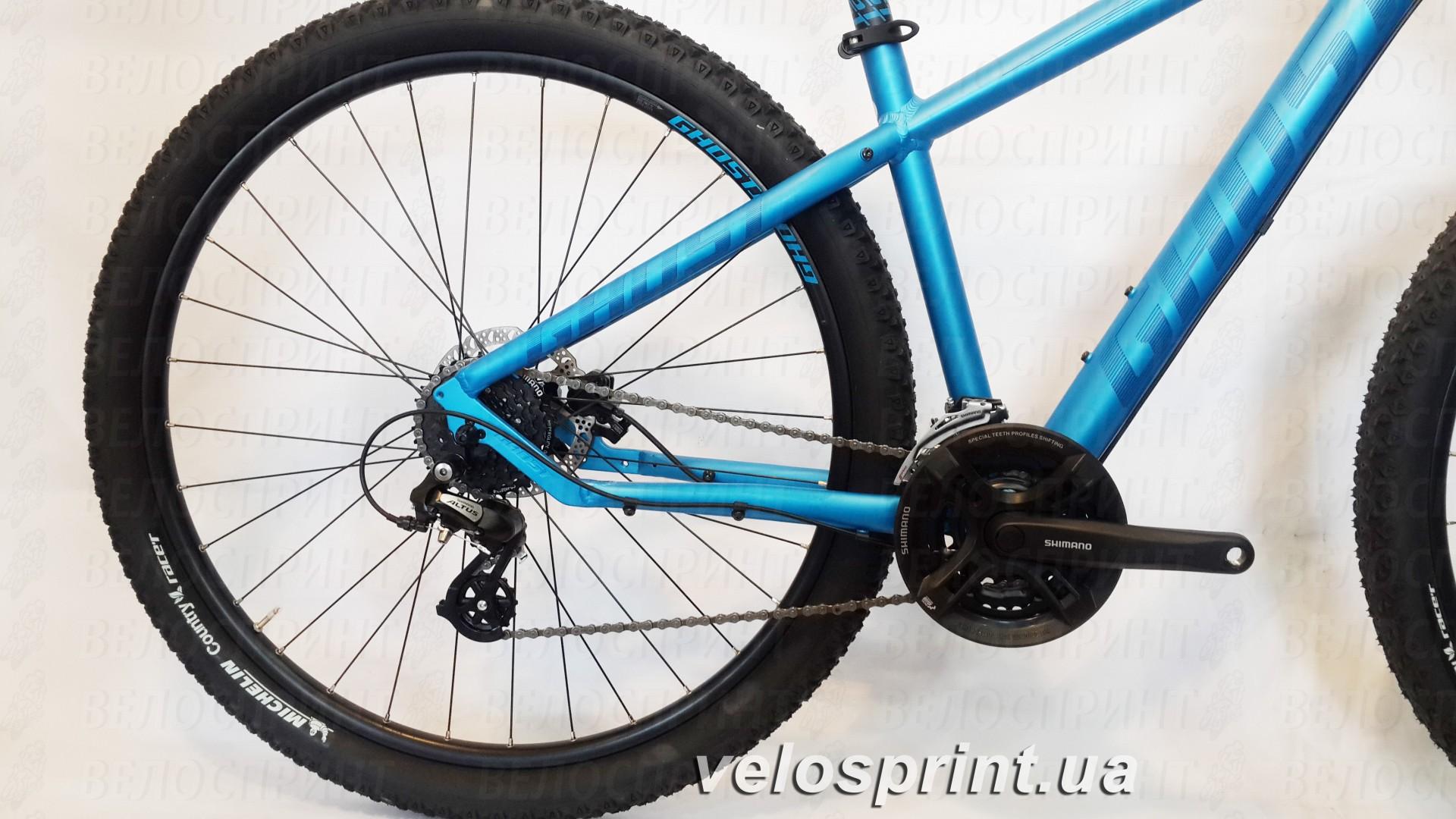 Велосипед GHOST Tacana 1 blue/darkblue/black шатуны год 2016