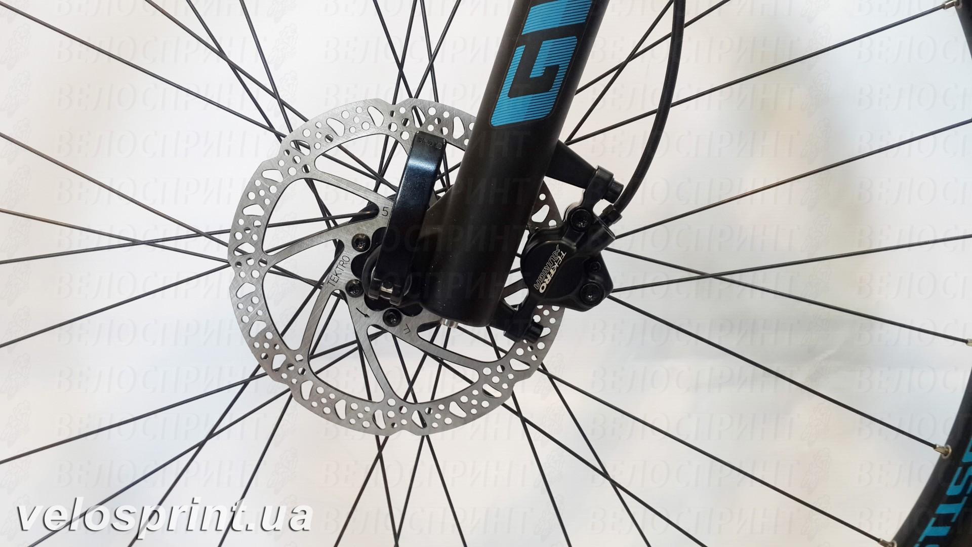 Велосипед GHOST Tacana 1 blue/darkblue/black передний тормоз год 2016