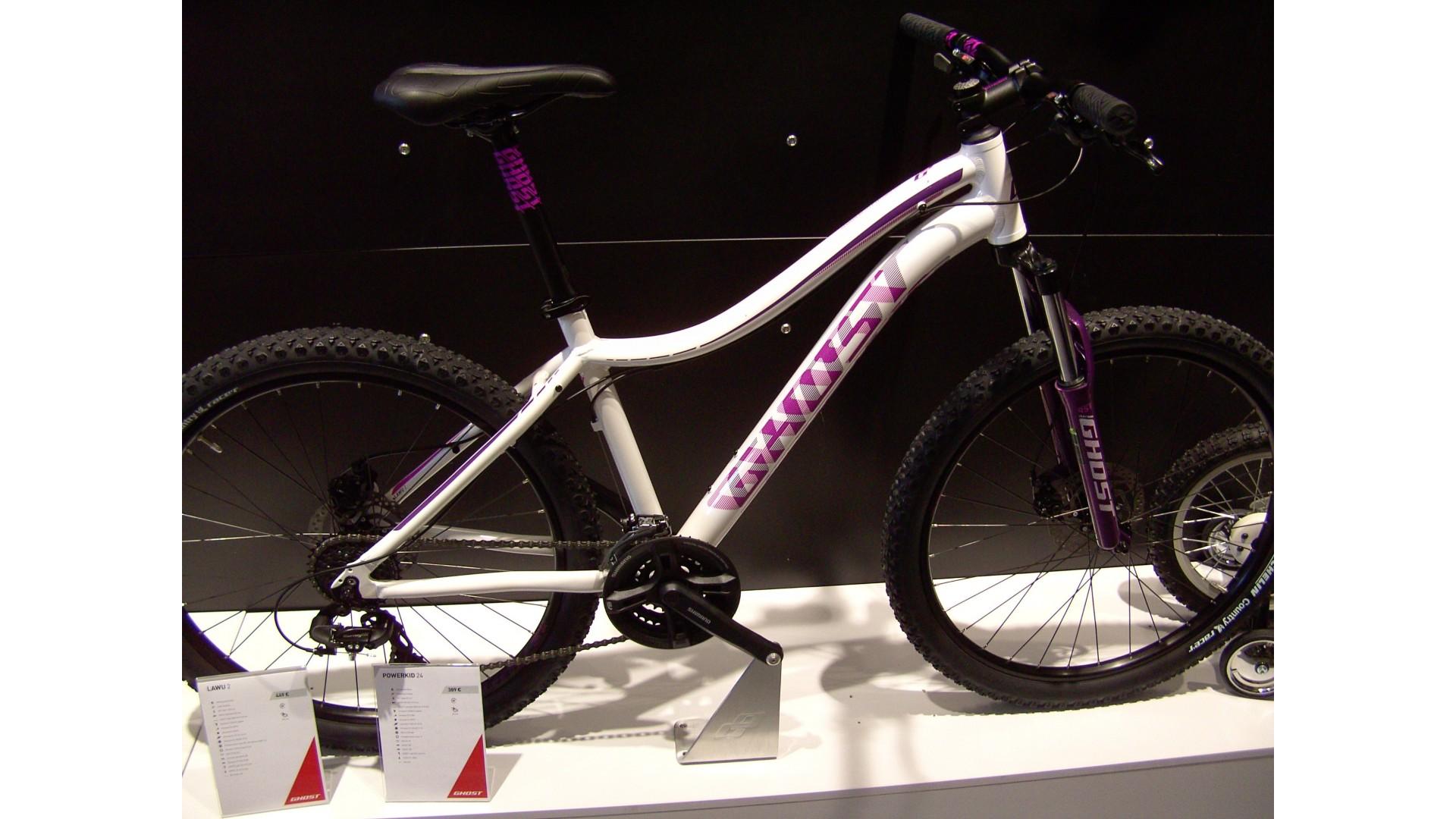Велосипед GHOST Lawu 2 white/pink/purple евробайк год 2016