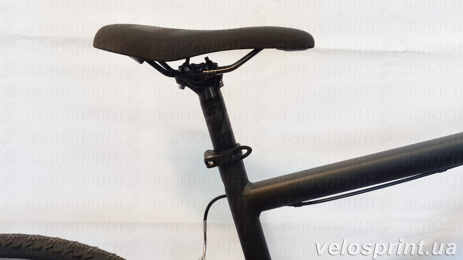Велосипед GHOST Square Cross 2 black/lightblue подседельный штырь год 2016