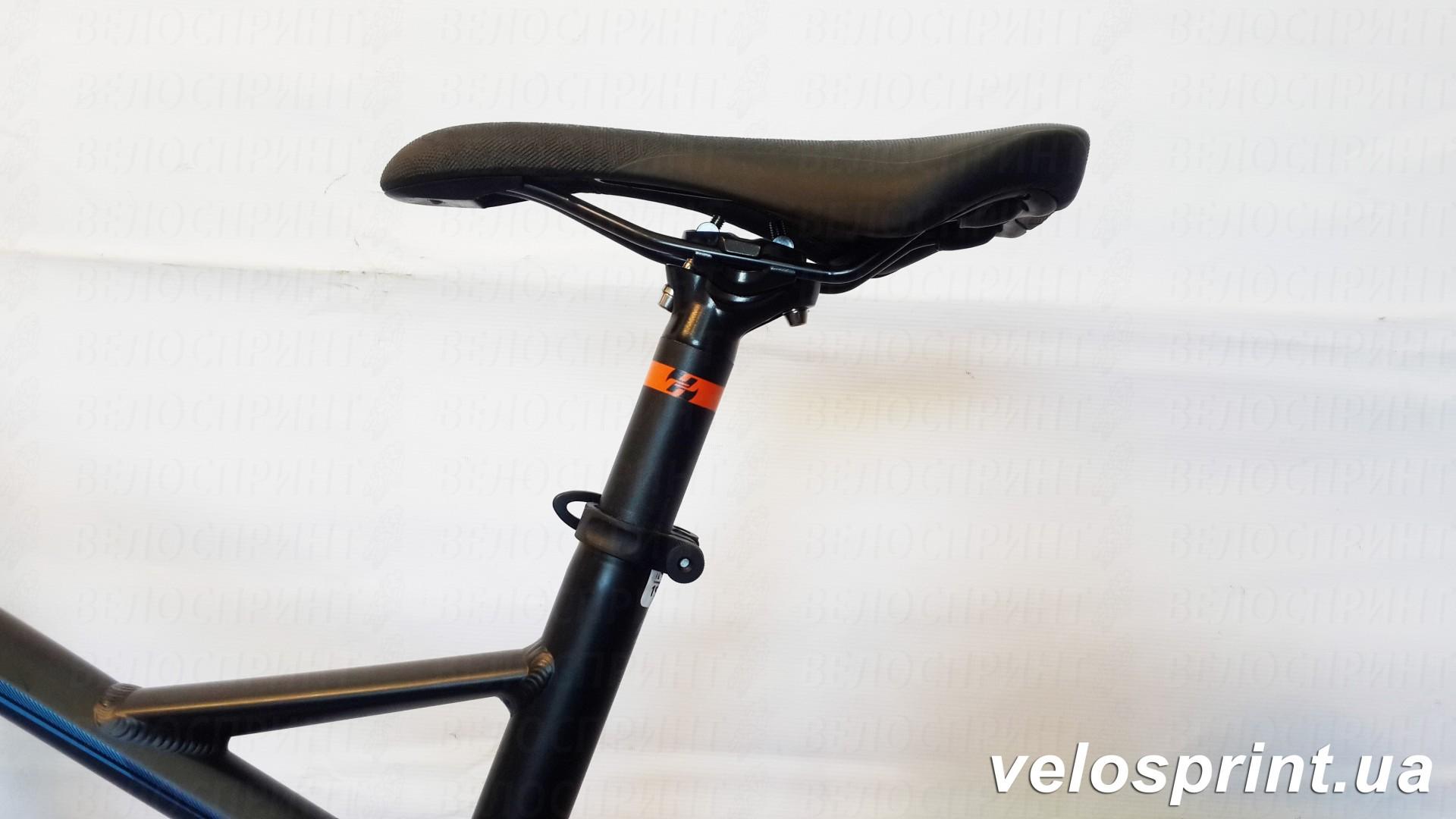 Велосипед GHOST Kato FS 2 AL 27.5 nightblack/riotblue/monarchorange подседельный штырь  год 2017