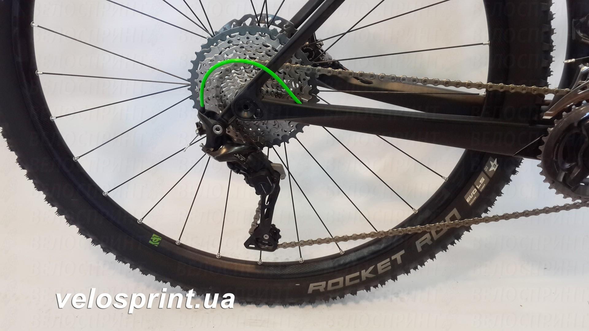 Велосипед GHOST Lector 6 LC 29 titaniumgrey/nightblack/riotgreen задний переключатель год 2017