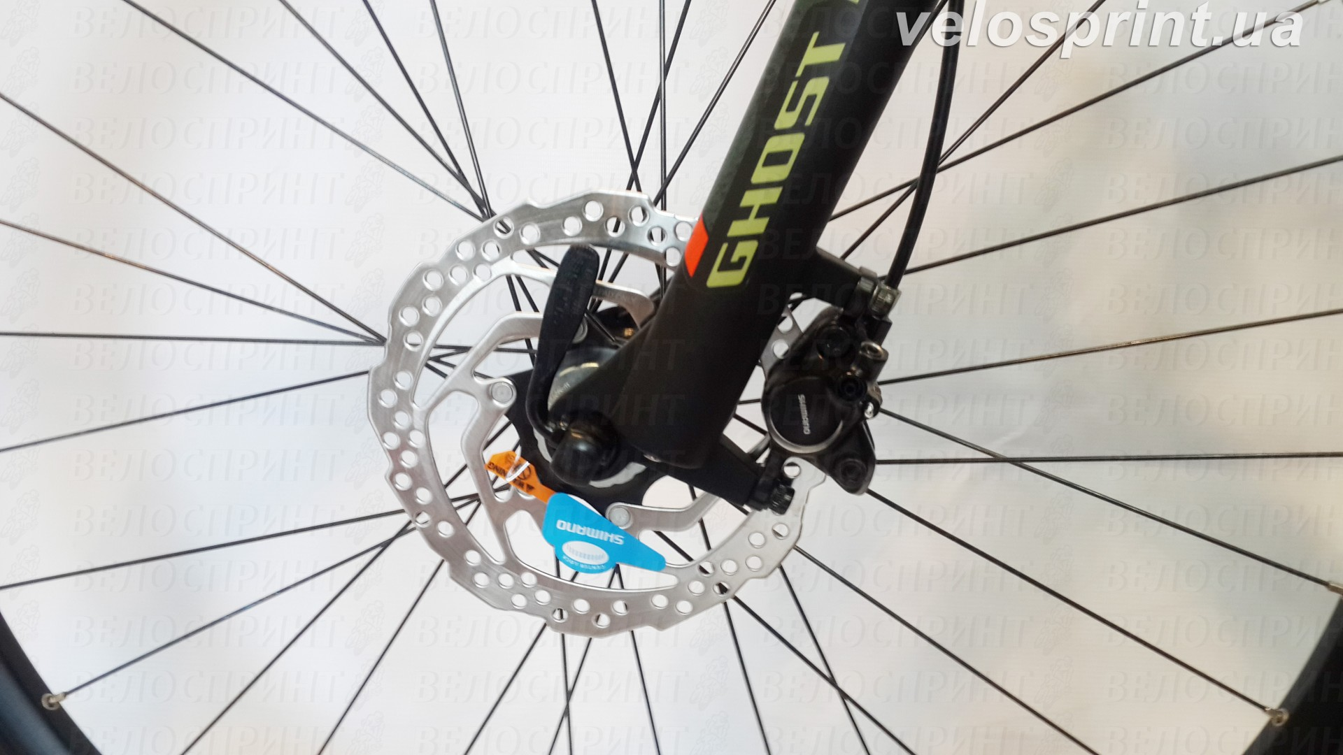 Велосипед GHOST Kato 2 AL 27.5 forestgreen/armygreen/neonred передний тормоз год 2017