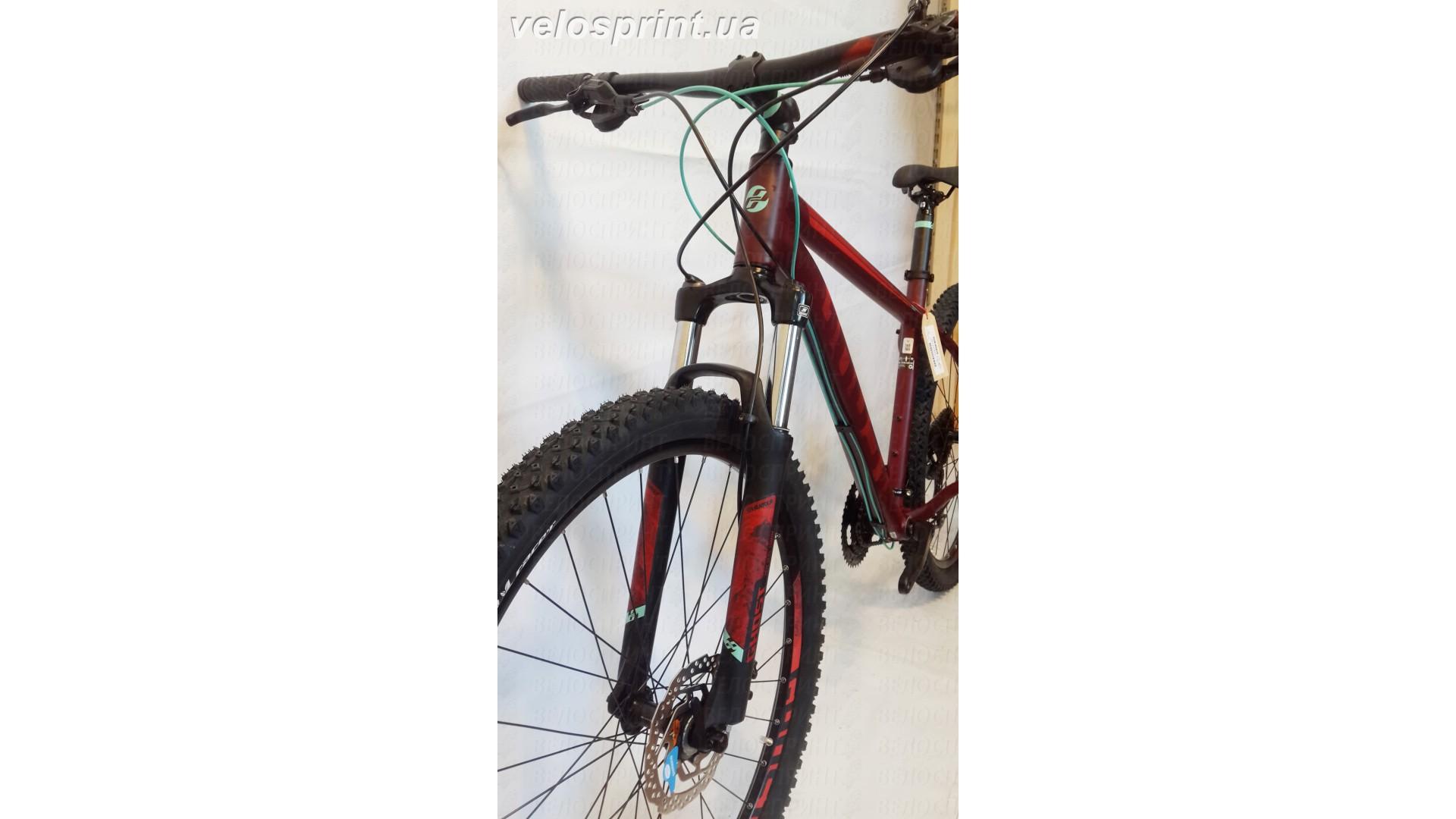 Велосипед GHOST Kato 3 AL 29 marsalared/cranberryred/jadeblue вилка год 2017