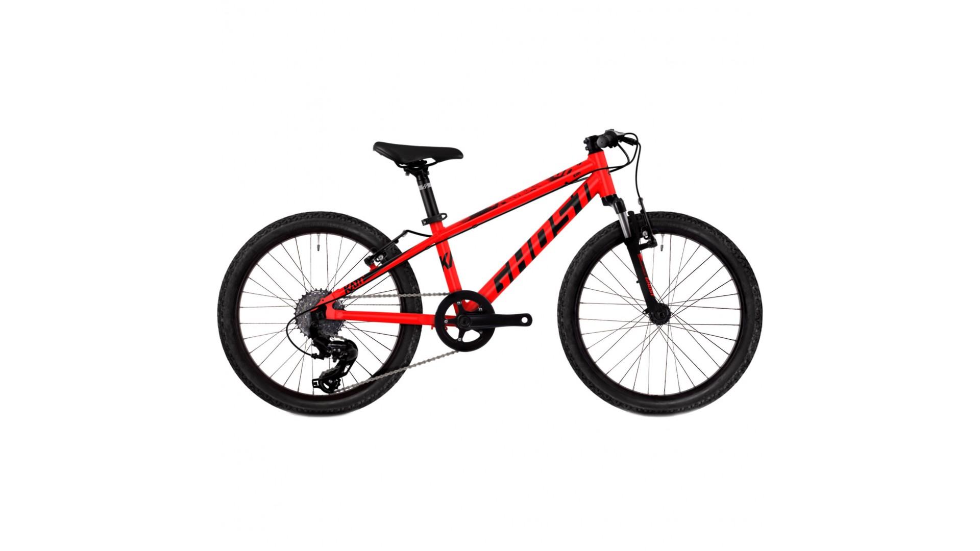 Детский велосипед GHOST Kato 2.0 AL U RED / BLK год 2018