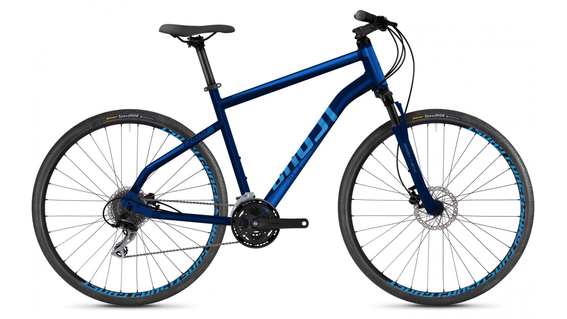 Велоспринт GHOST Square Cross 2.8 AL U night blue / navi blue / vibrant blue год 2018