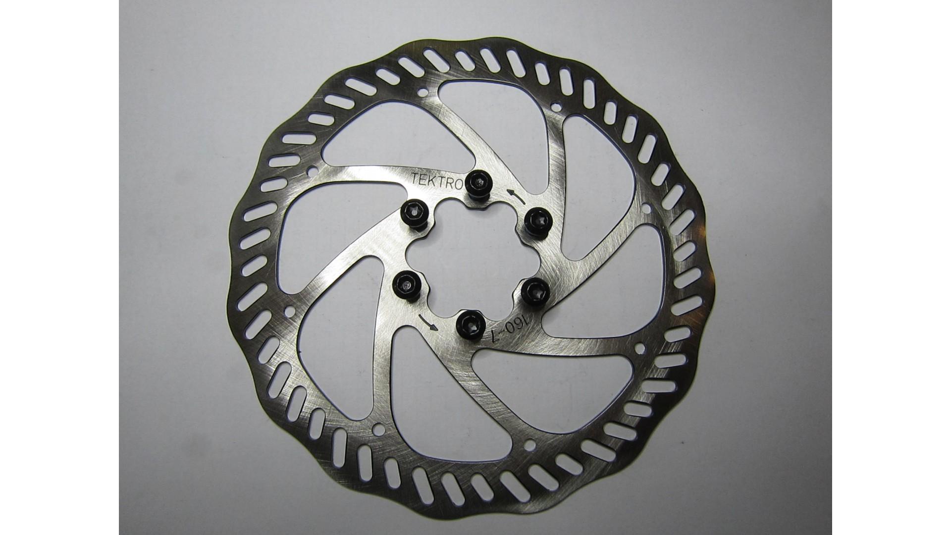 Ротор тормоза дискового Tektro Novela R160P/S