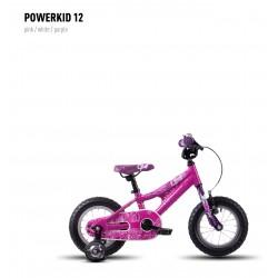 Велосипед GHOST Powerkiddy 12 pink/white/purple год 2016
