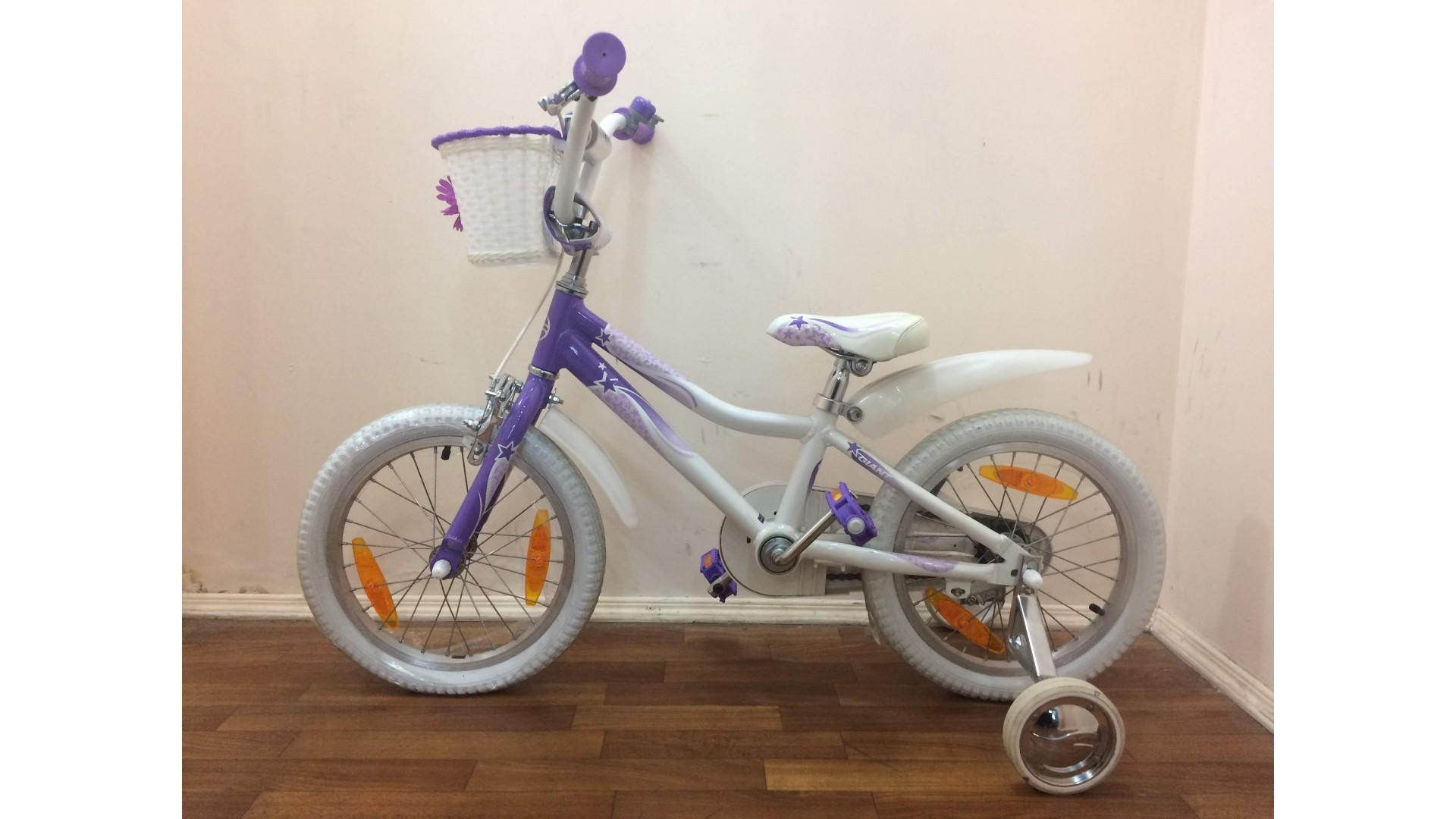 Велосипед Giant Puddn 16 бело-фиолетовый вид2