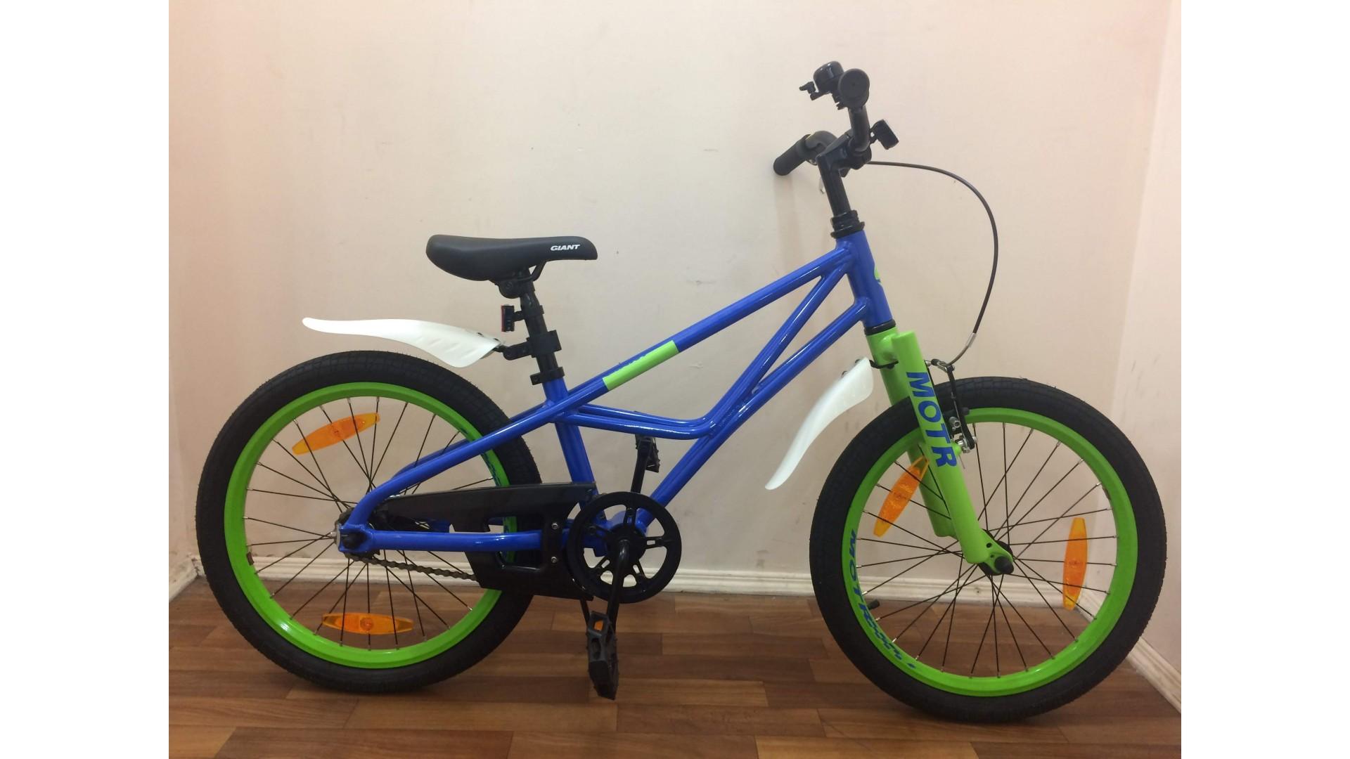 Велосипед Giant Motr 20 синий вид1