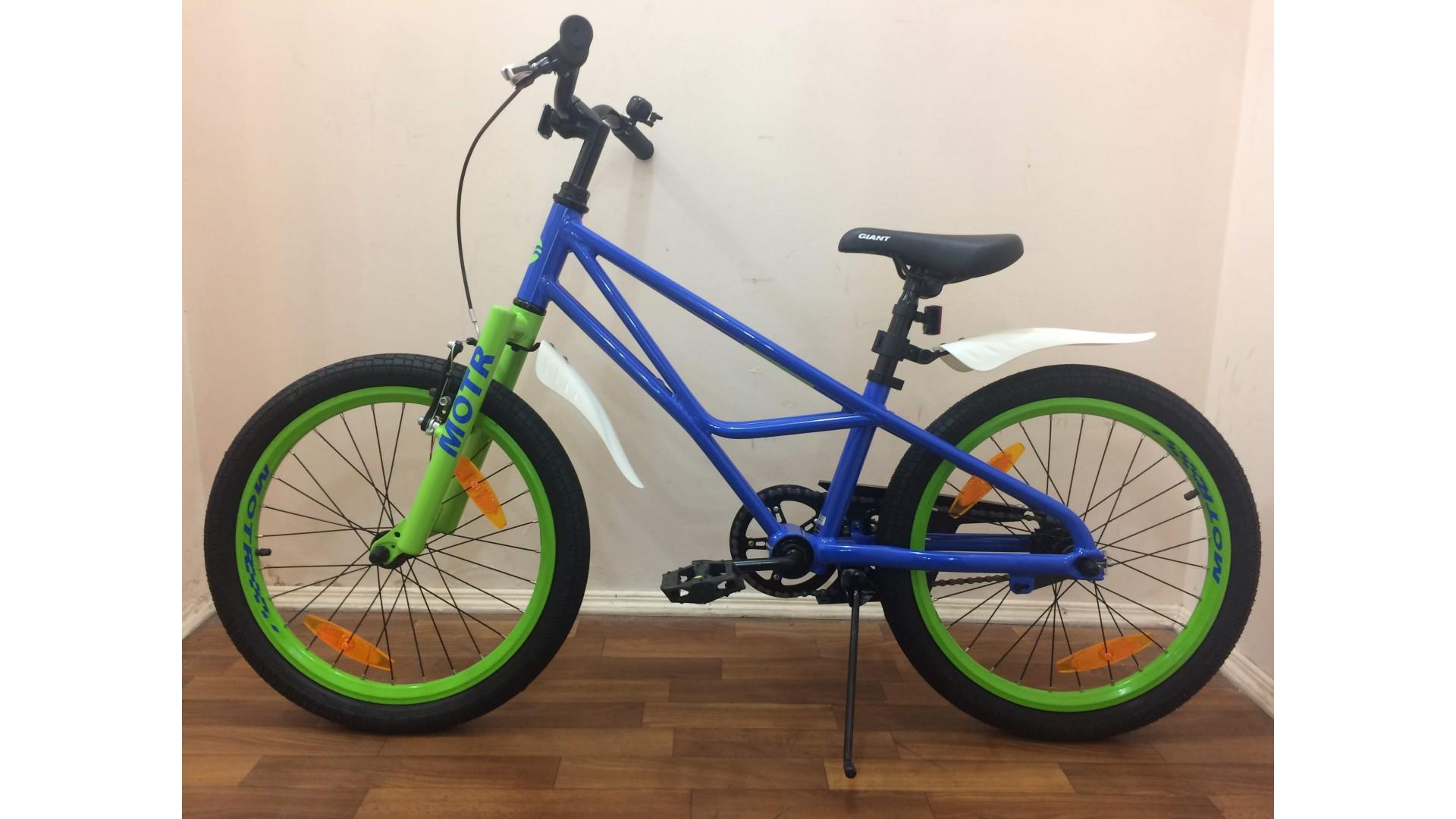 Велосипед Giant Motr 20 синий вид2