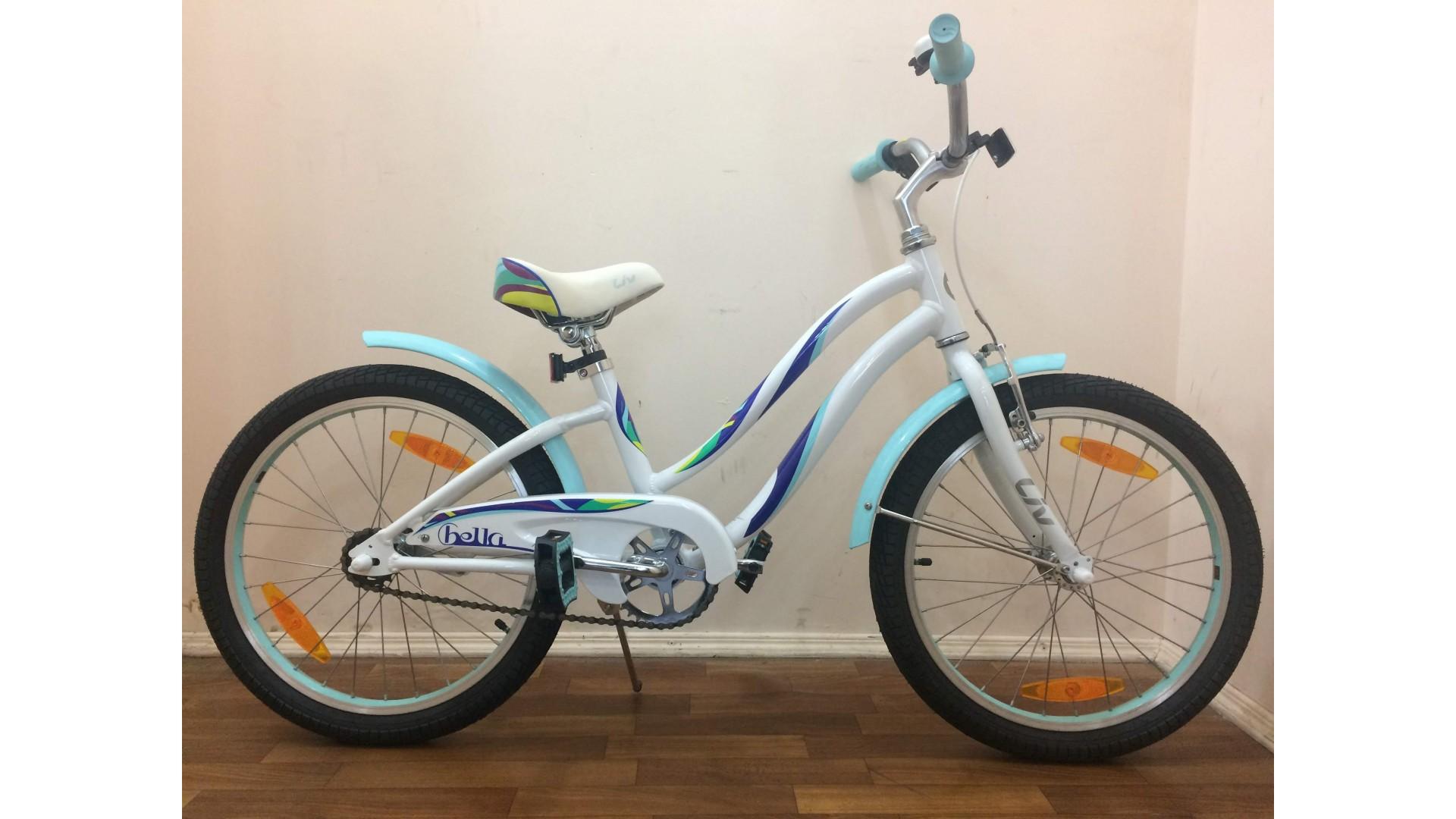 Велосипед Liv Bella 20 белый вид1