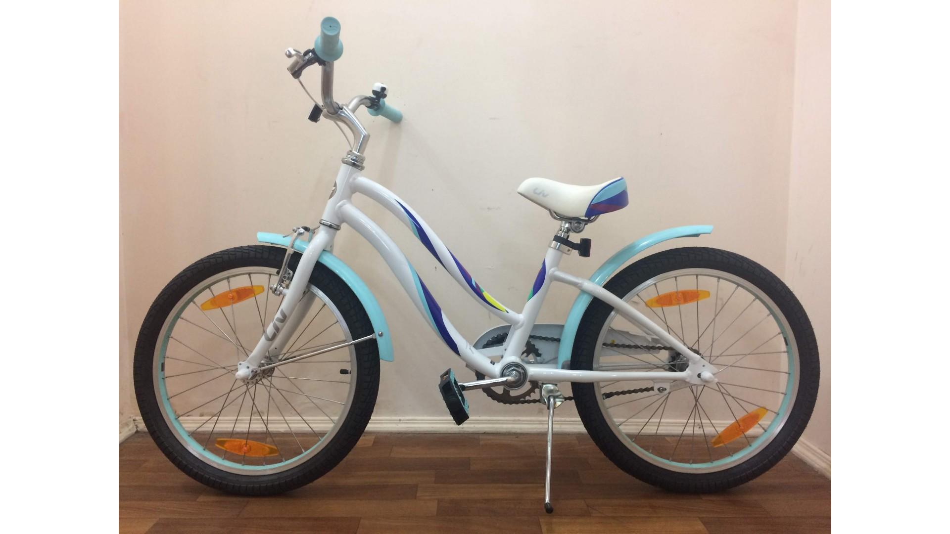 Велосипед Liv Bella 20 белый вид2