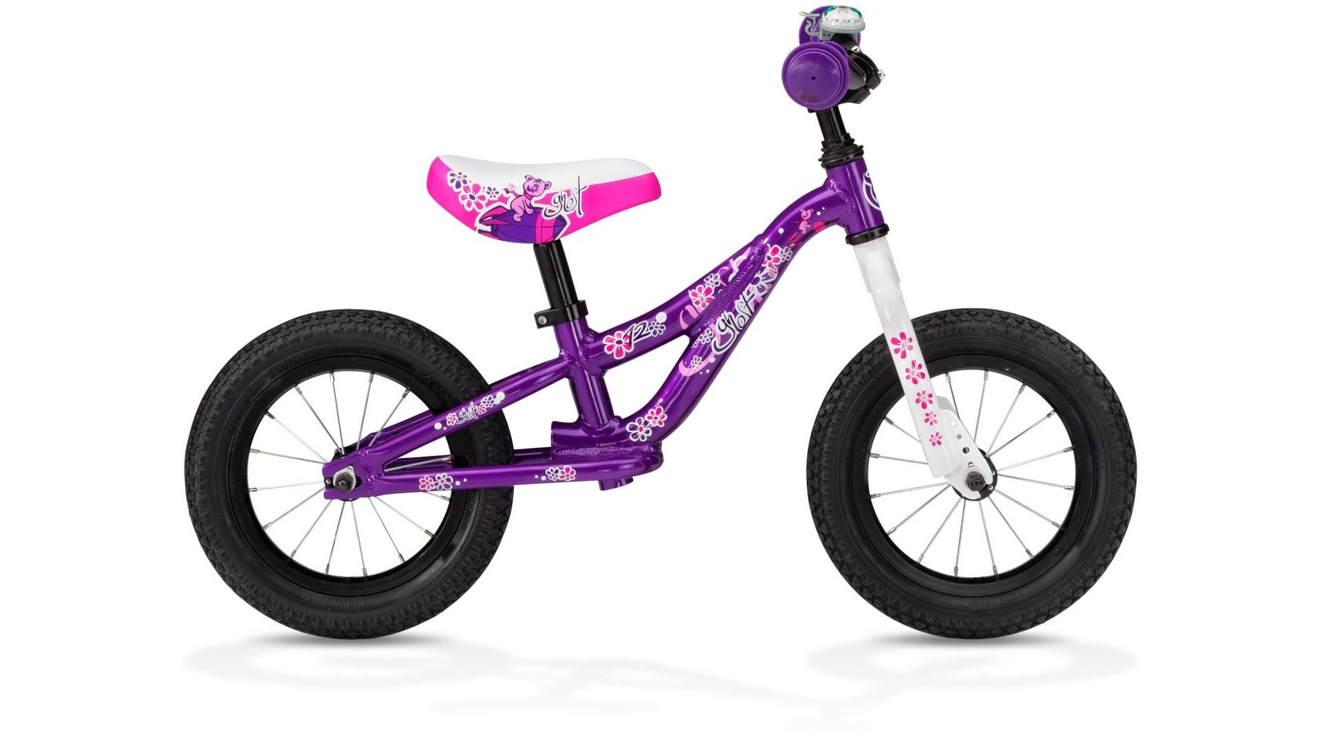 Велосипед GHOST Powerkiddy 12 purple год 2013