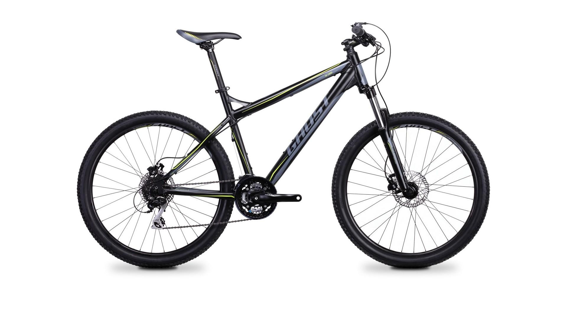 Велосипед GHOST SE 1800 black/grey/green год 2014