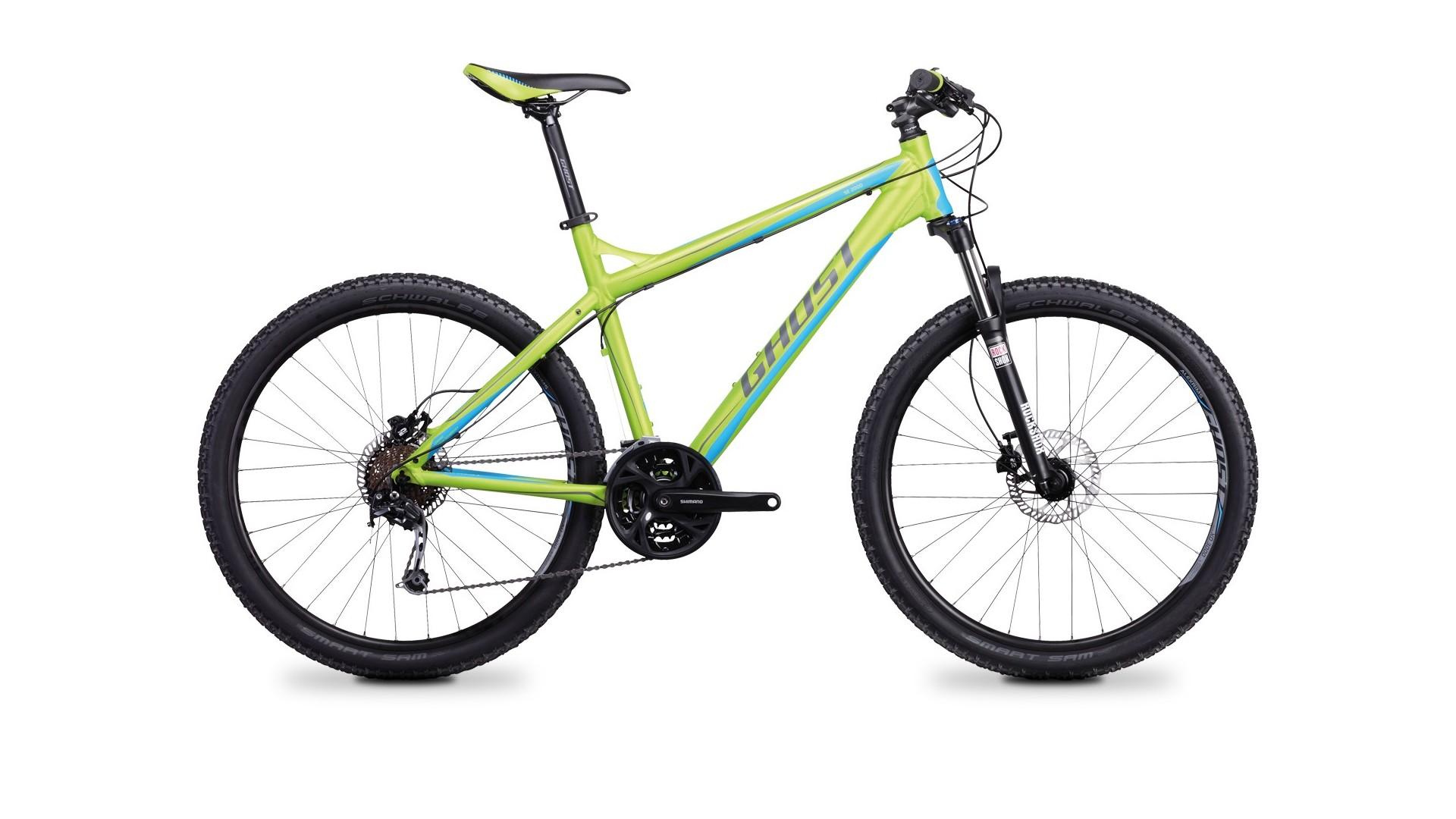 Велосипед GHOST E 2000 green/grey/blue год 2017
