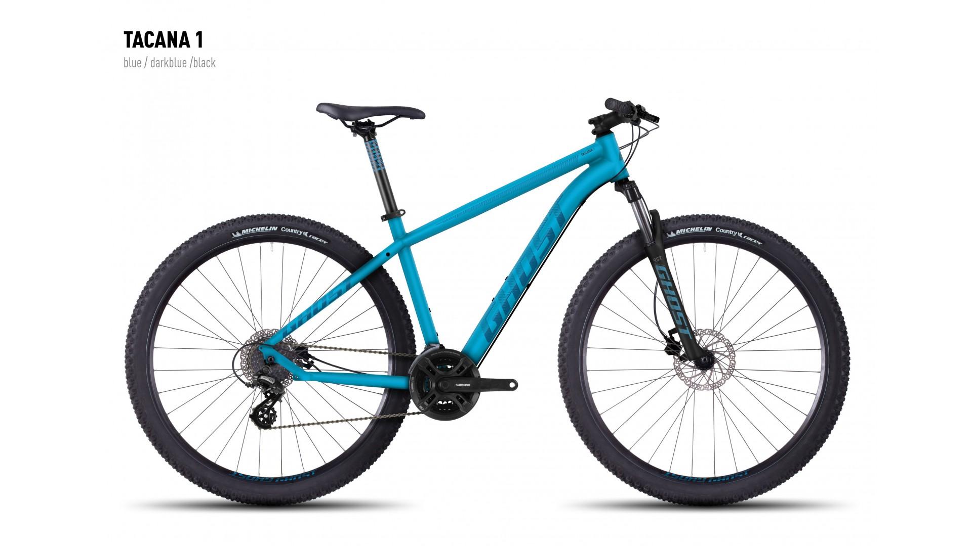 Велосипед GHOST Tacana 1 blue/darkblue/black год 2016