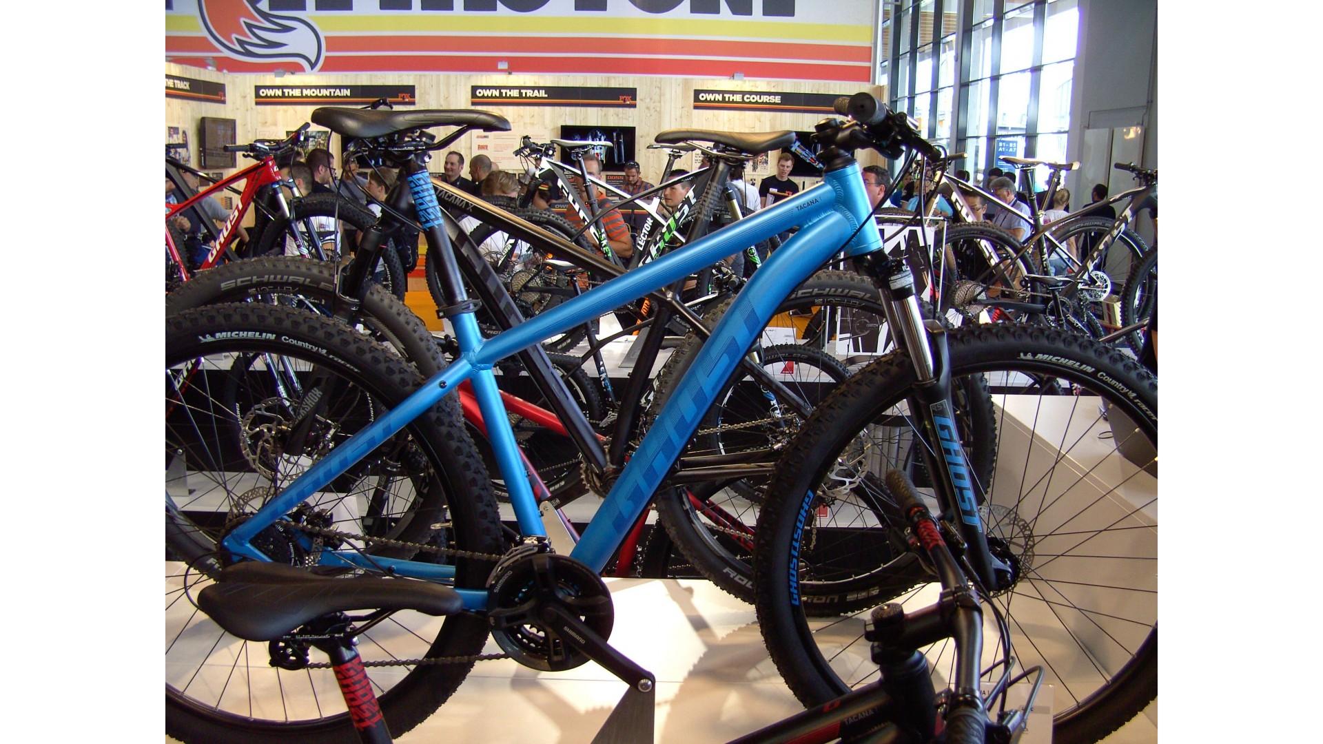 Велосипед GHOST Tacana 1 blue/darkblue/black евробайк год 2016