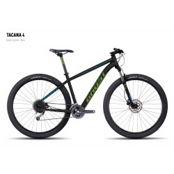 Велосипед GHOST Tacana 4 black/green/blue год 2016