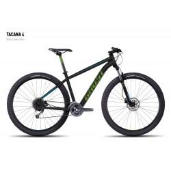 Велосипед GHOST Tacana 4 black/green/blue год 2016