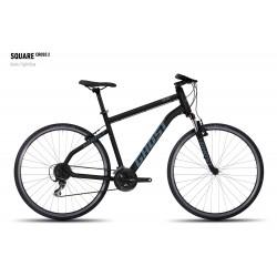 Велосипед GHOST Square Cross 2 black/lightblue год 2016