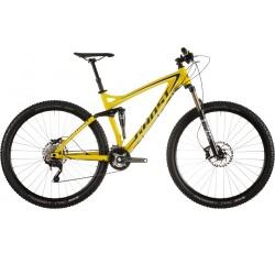 Велосипед GHOST AMR LT 5 limegreen/black/white год 2015
