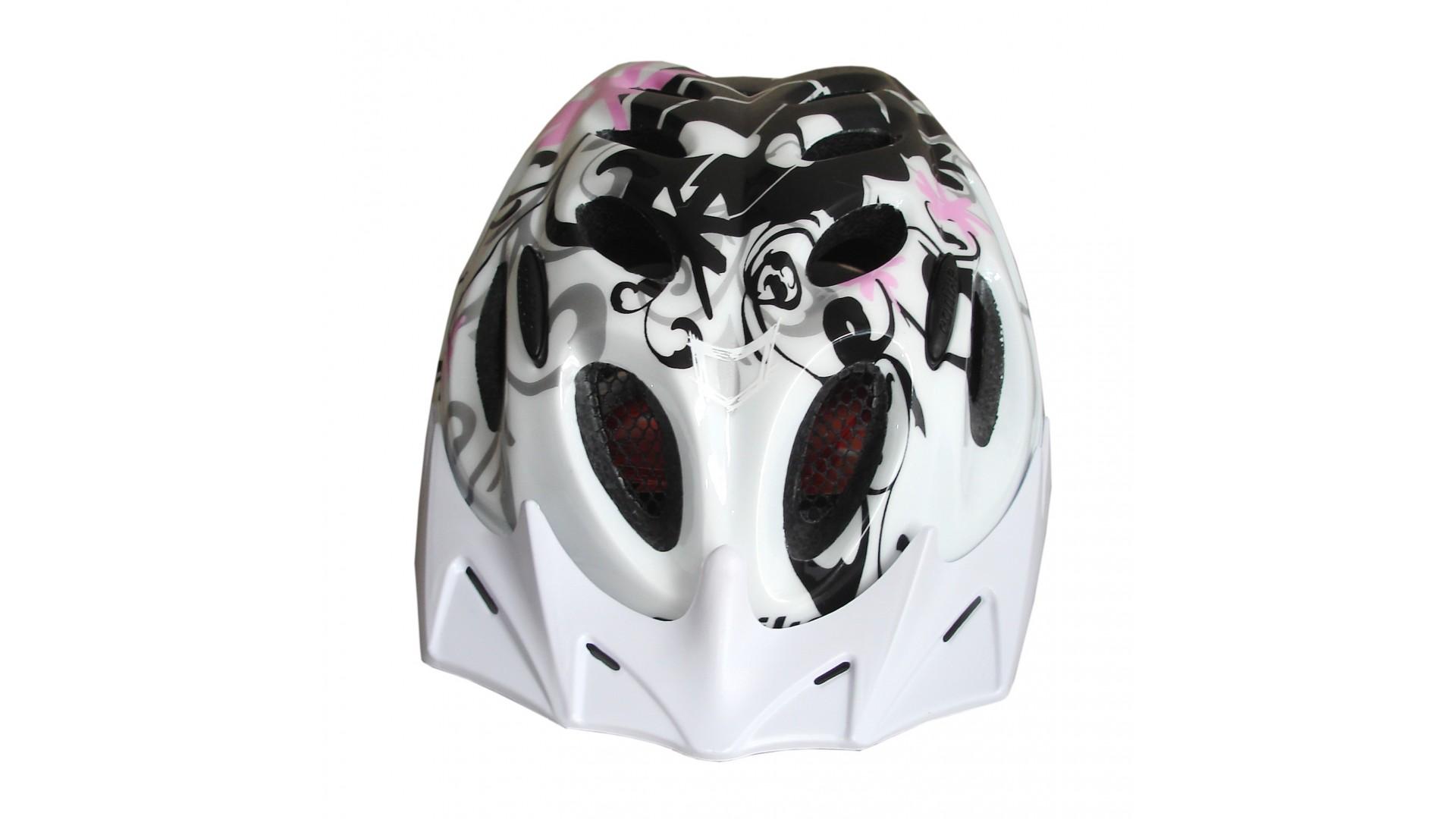 Велошлем Catlike Diablo Bco Rosa Negro