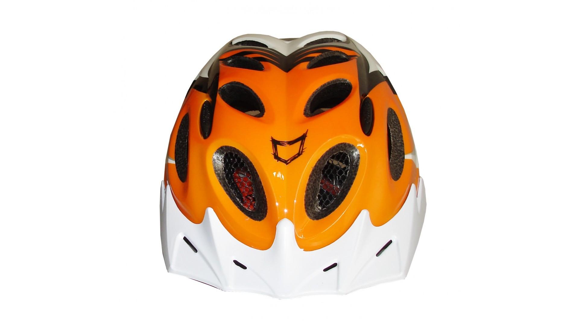 Велошлем Catlike Diablo Tricolor Naranja