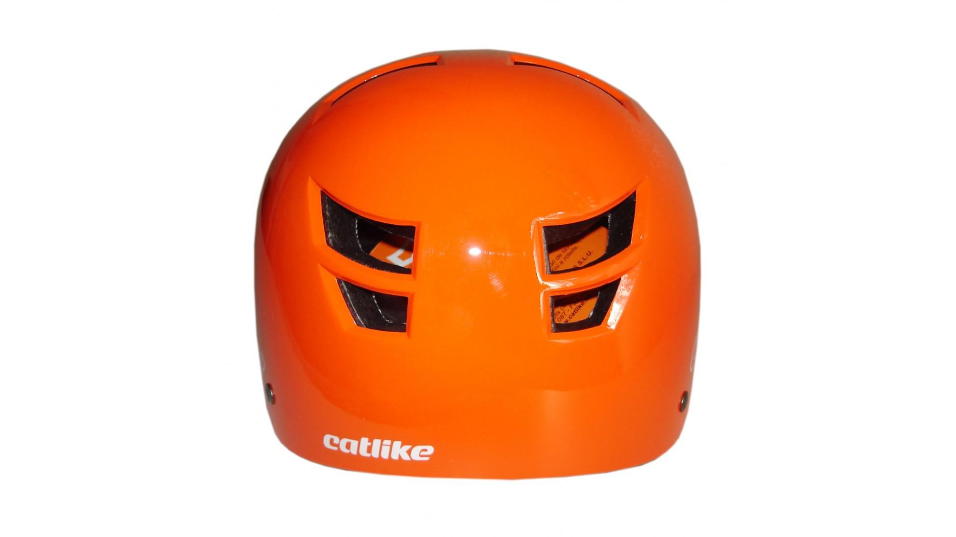 Велошлем Catlike Freeride Naranja Brillo