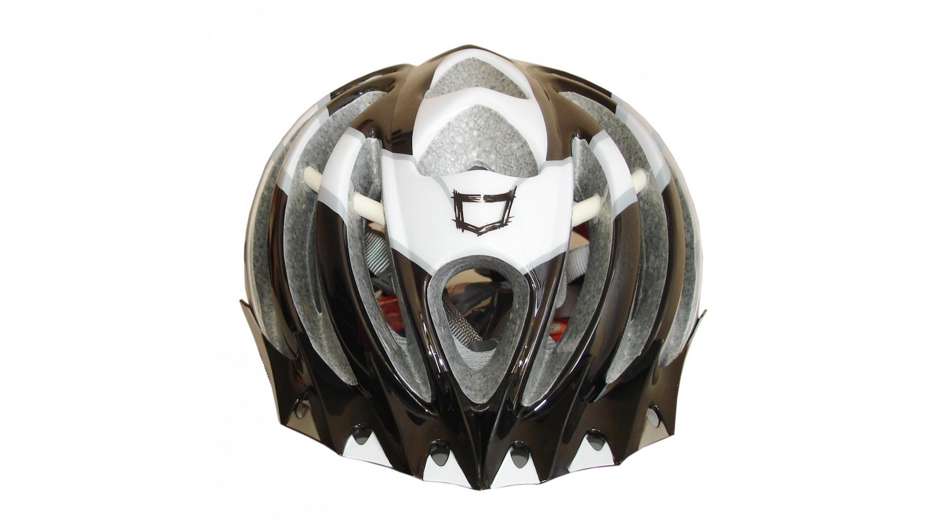 Велошлем Catlike Vacuum Blanco Gris Negro