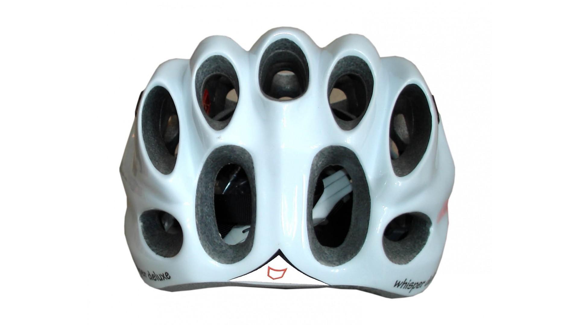 Велошлем Catlike Whisper Plus Deluxe Blanco-Negro