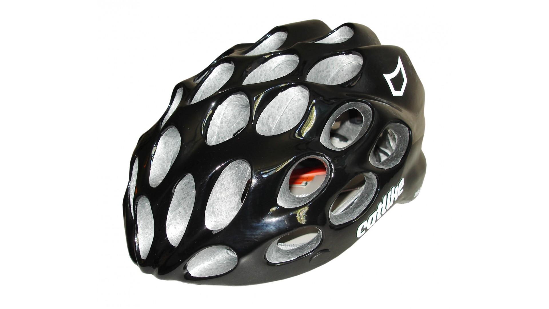 Велошлем Catlike Whisper Plus Deluxe Negro-Blanco