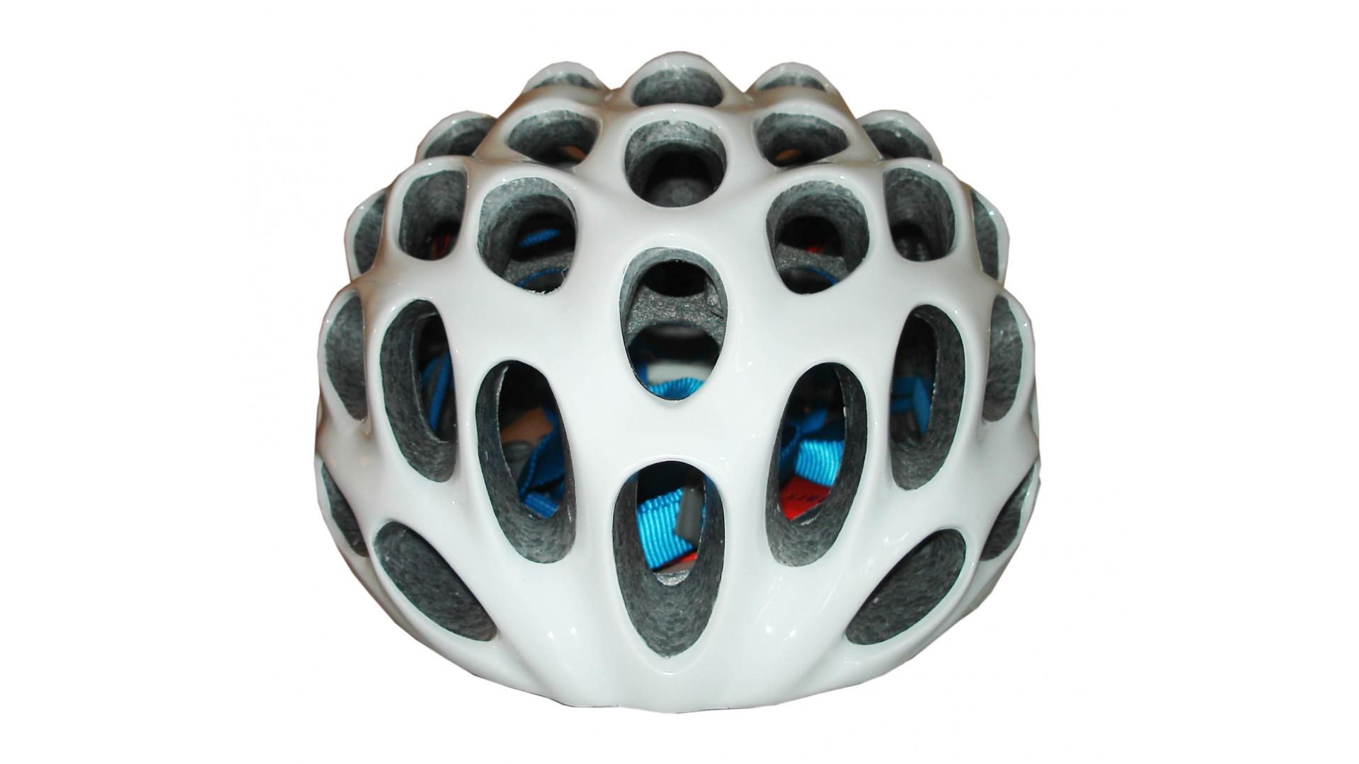 Велошлем Catlike Whisper Plus Deluxe Blanco-Azul