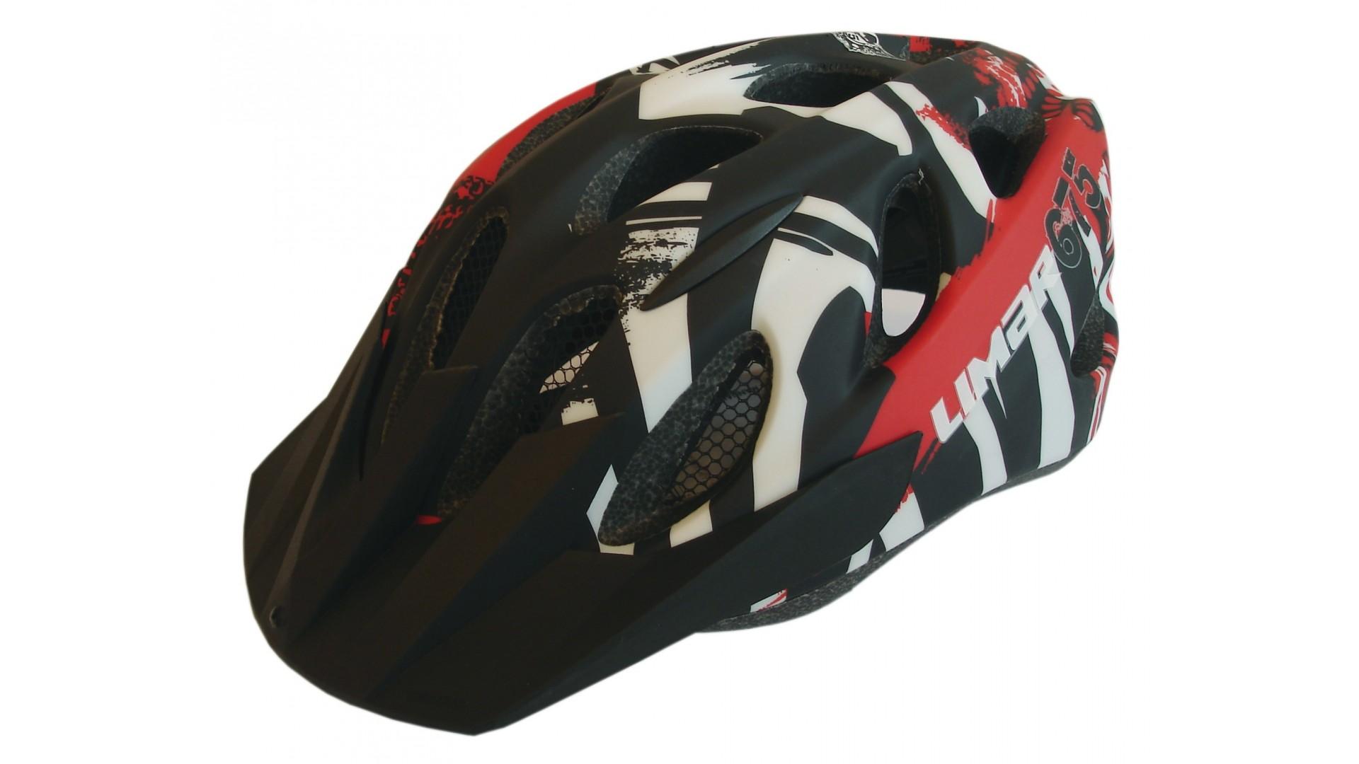 Велошлем Limar 675 matt black red