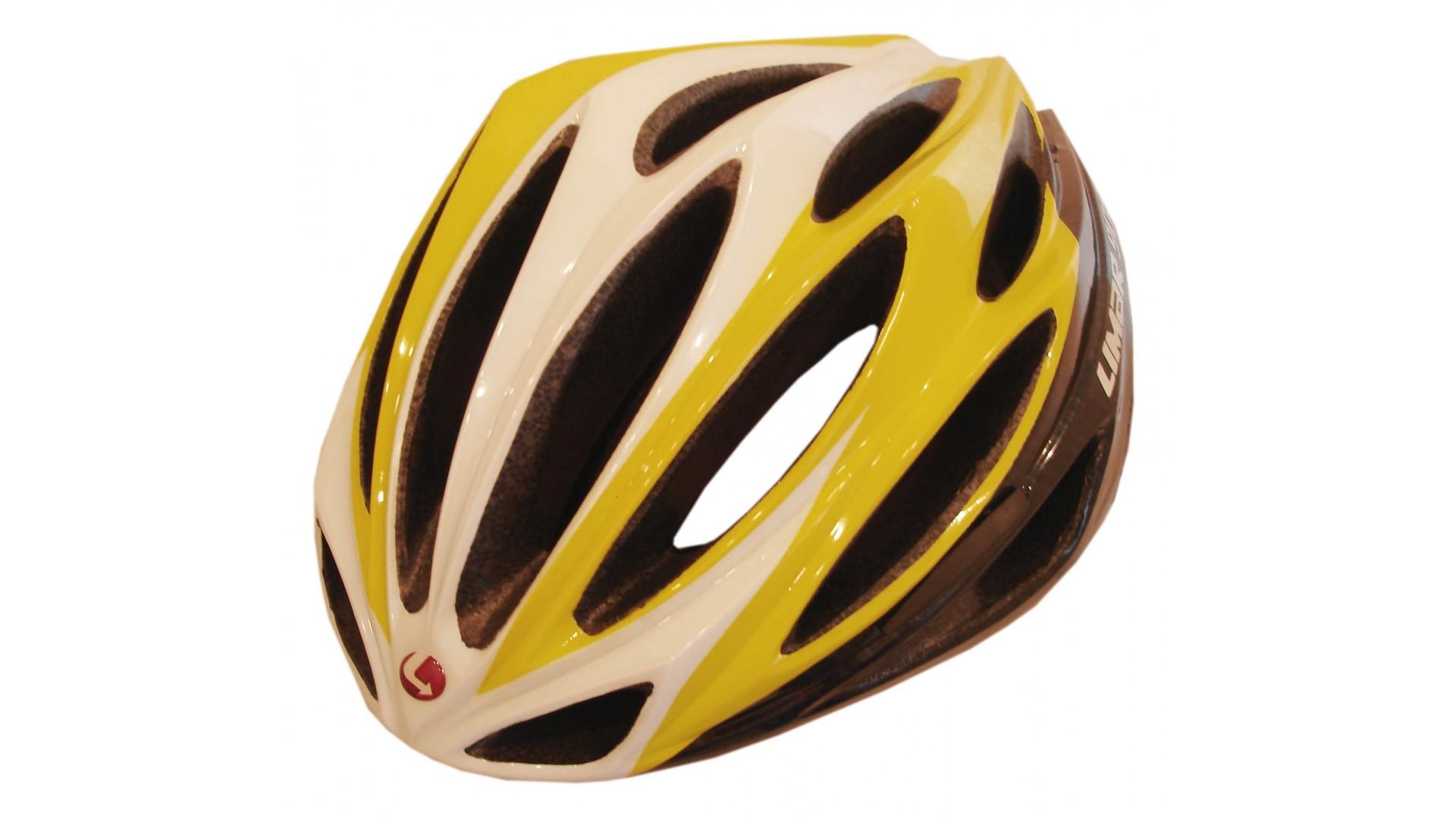 Велошлем Limar 908 carbon yellow