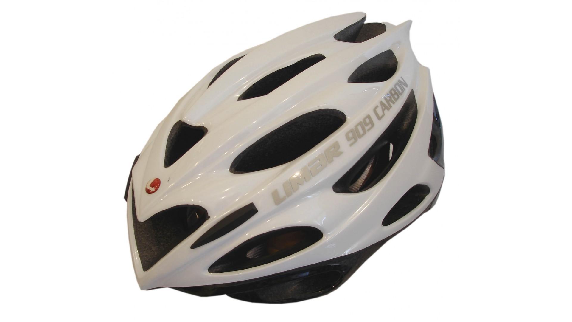 Велошлем Limar 909 carbon white pearl