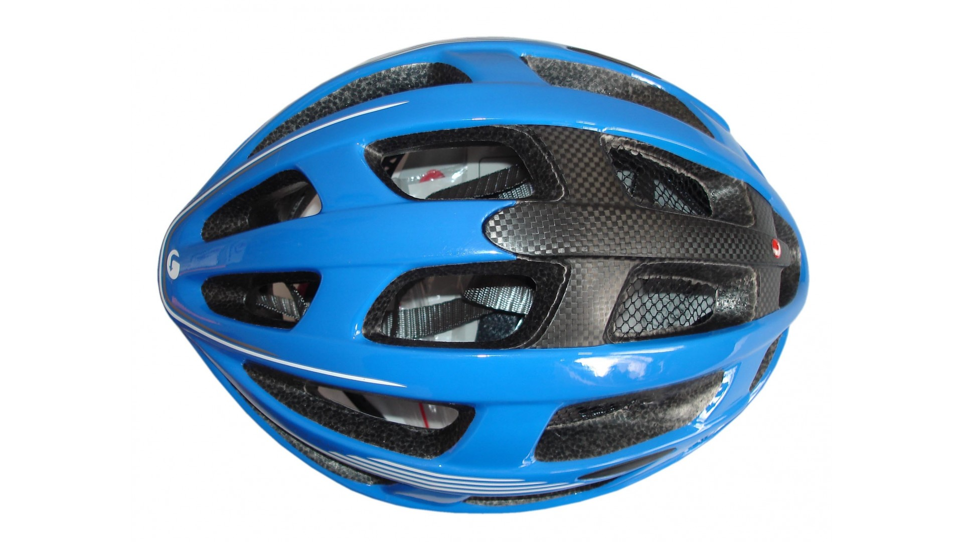 Велошлем Limar carbon ultralight blue