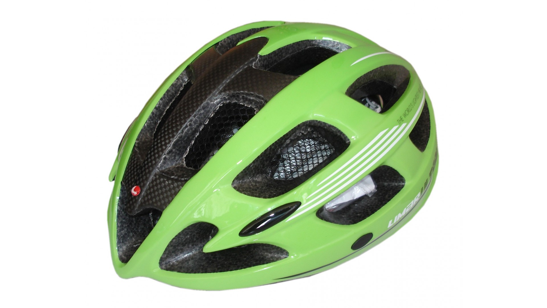 Велошлем Limar carbon ultralight green