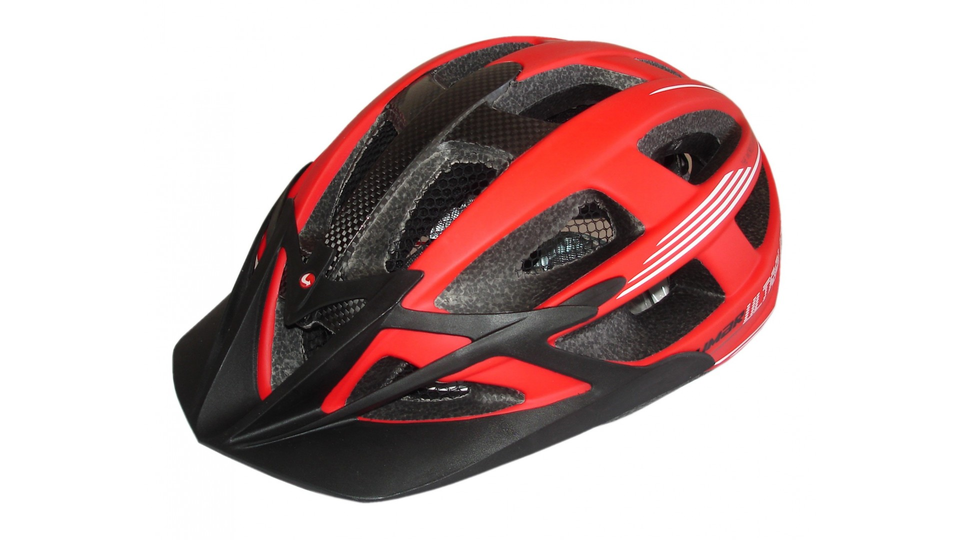 Велошлем Limar carbon ultralight matt red