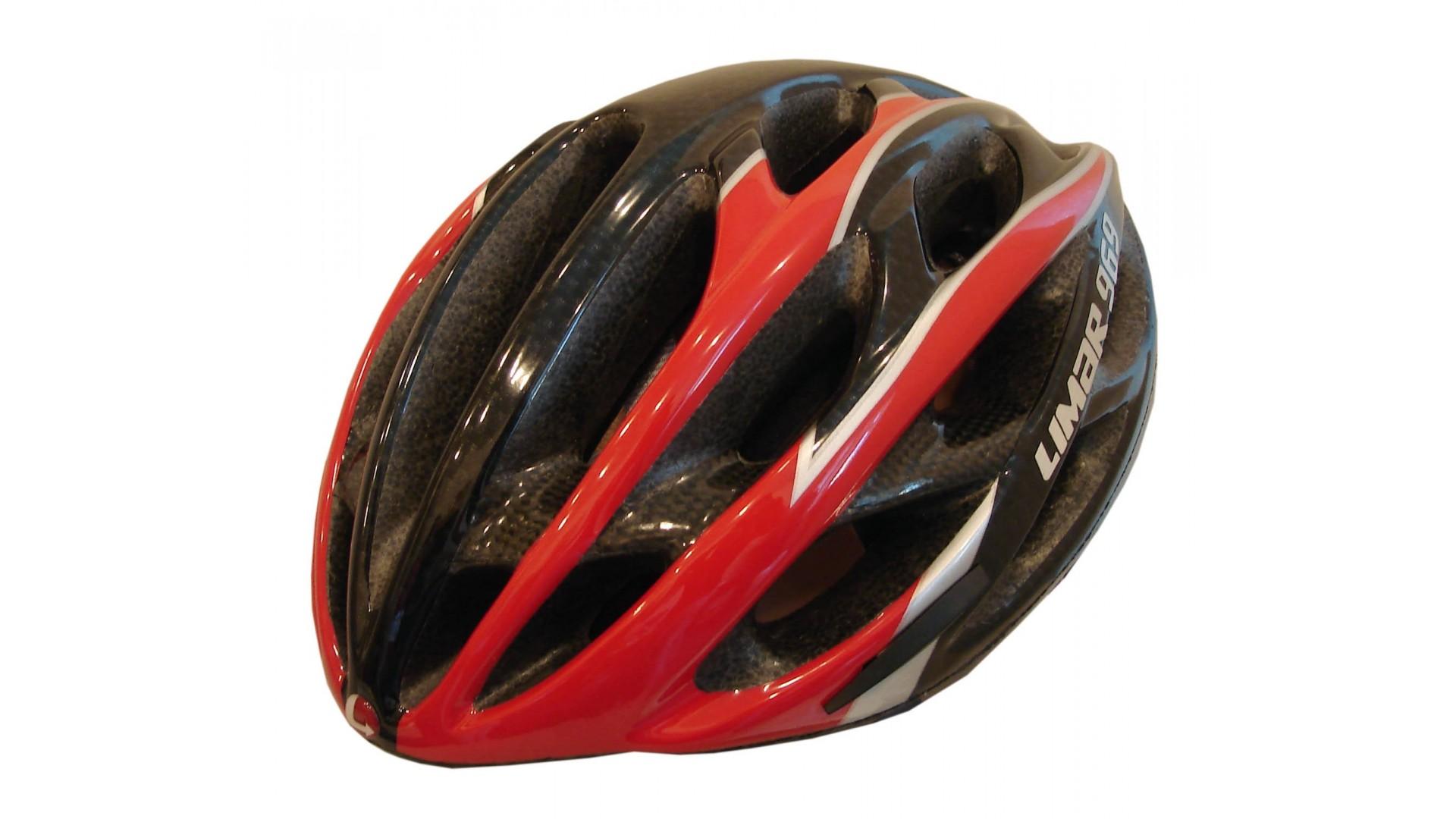 Велошлем Limar 969 carbon red