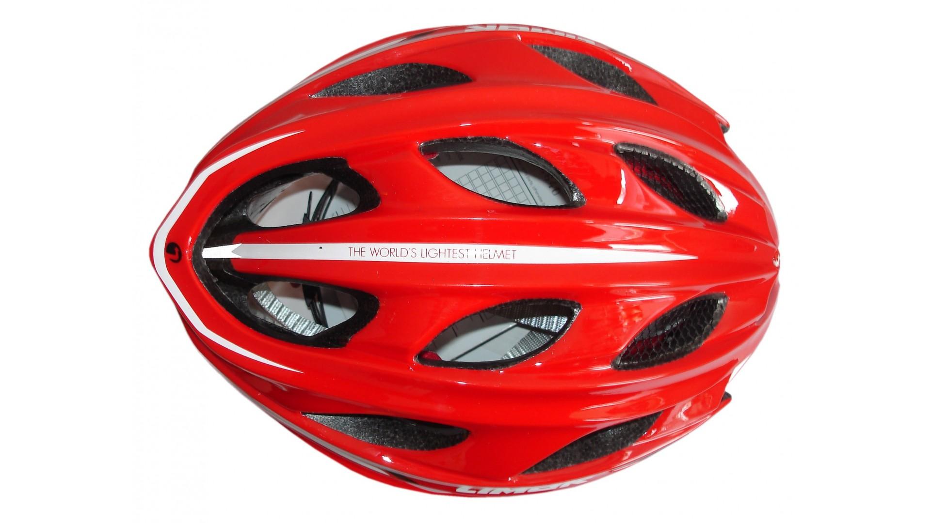 Велошлем Limar Ultralight plus red