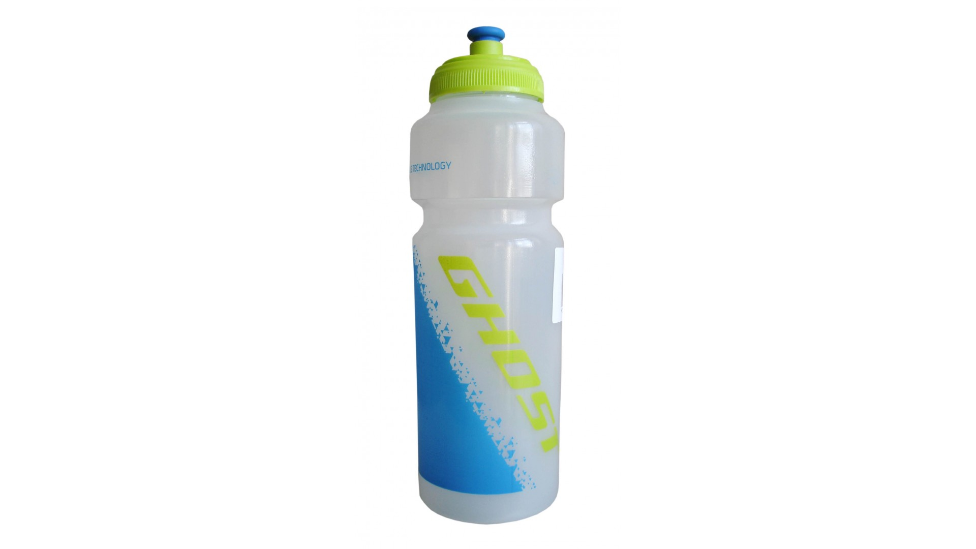 Фляга Ghost 750 ml прозрачная white/lime green/cyan