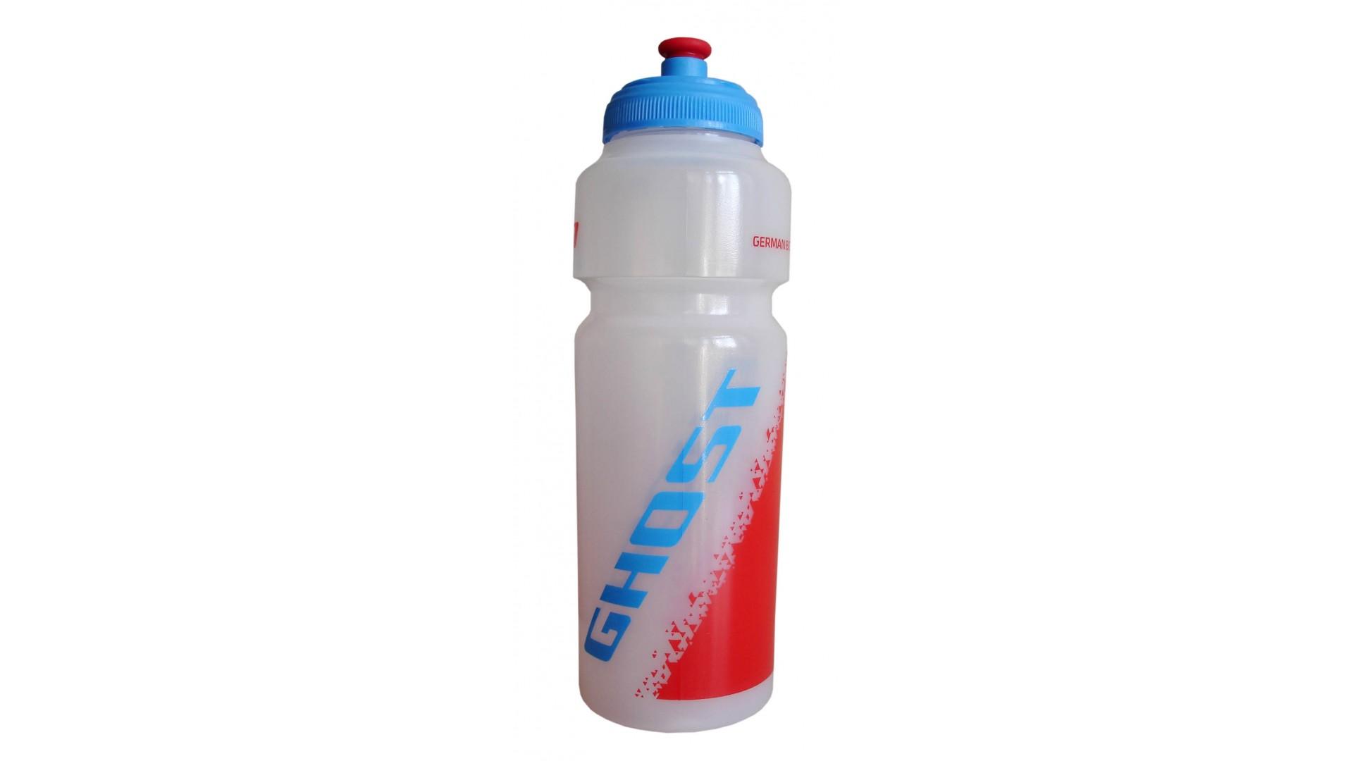 Фляга Ghost 750 ml прозрачная white/red/cyan
